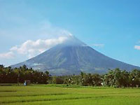 Mount Mayon volcano, Bicol, Philippines