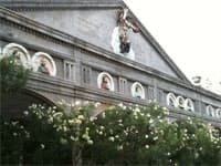 Cebu church frieze