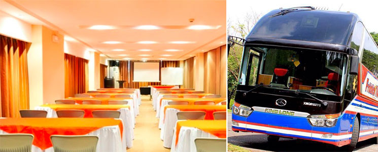 Conference and meeting rooms at venues all over the Philippines