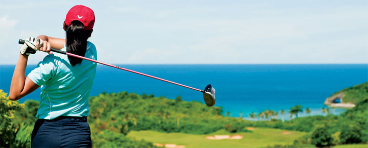 Golf at Fairways and Bluewater, Boracay