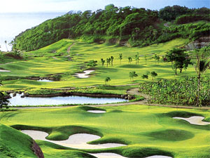 Play golf at Fairways and Bluewater Golf Course, Boracay