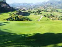 Aerial view of Sun Valley Golf Club, Clark, Philippines