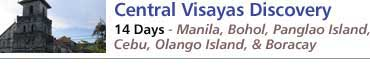 Central Visayas Discovery - Philippines Tour