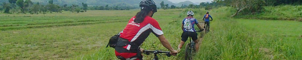 Cycling tours in Coron, Philippines