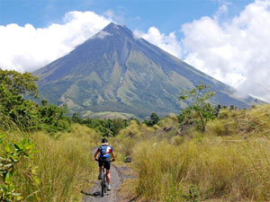 Mountain-biking in the Philippines