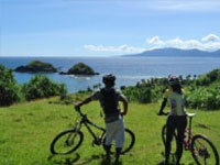 mountain biking in Ilocos, Philippines
