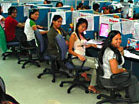 Call centre staff, Philippines