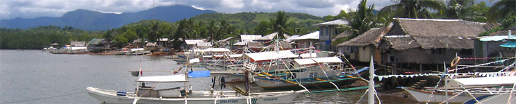 Boats at Puerto Princesa, Palawan, Philippines