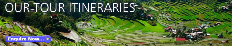 Philippines Tour Itineraries