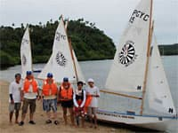 Sailing at Puerto Galera